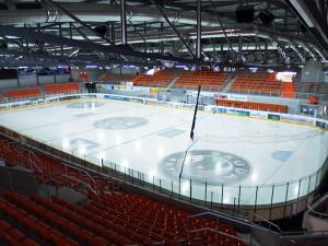 Grizzly Adams Wolfsburg, Volksbank BraWo Eis Arena, innen