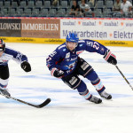 Adam Mitchell, on ice