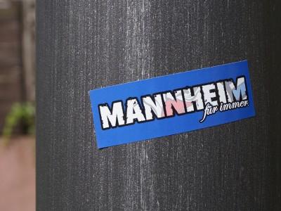 Produkt_Aufkleber_Mannheim für Immer